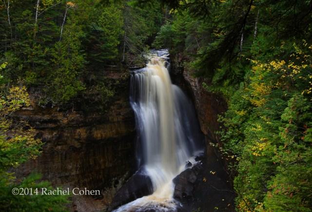 """""""Miner's Falls in October"""""""