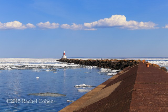 """""""Marquette Breakwater Lighthouse"""""""
