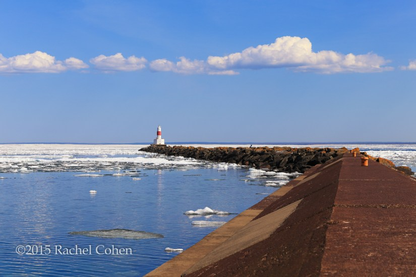 """Marquette Breakwater Lighthouse"""