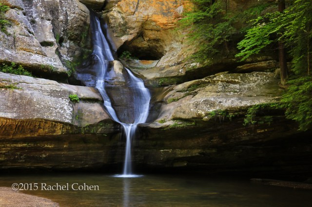 """Beautiful Cedar Falls"" I had the opportunity to go to Hocking Hills in Hocking County Ohio this summer. The many waterfalls in the location and the amazing rock formations were wonderful! The summer was a dry one, so the water flow wasn't as strong as I would have liked, but it was beautiful to me anyway!"