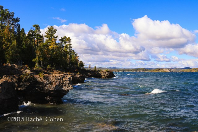 """One Very Fine Day"" This was a fabulous day in Marquette Michigan on Presque Isle Park!"