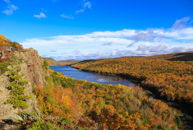 """""""sunshine on Lake of the Clouds"""" Almost totally clear at """"Lake of the Clouds"""" on a bright fall afternoon!"""