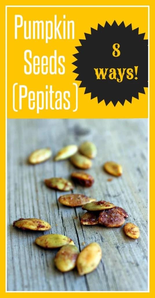 Pepitas 8 Ways! | RachelCooks.com