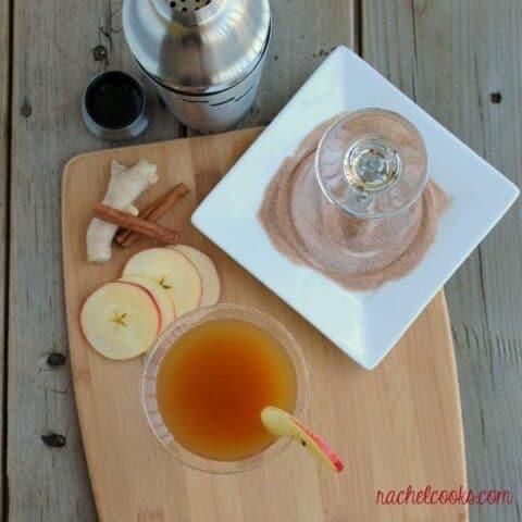 Ginger Cinnamon Apple Cider Mocktail