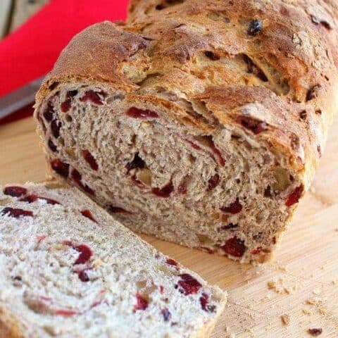 Cranberry-Walnut Oat Bread