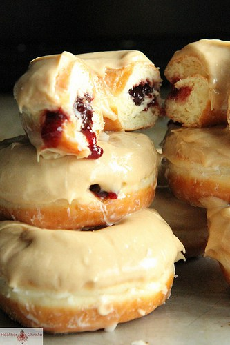 Peanut Butter and Jelly Donuts
