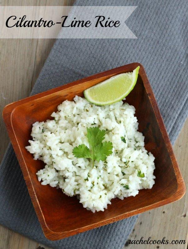 Cilantro Lime Rice | RachelCooks.com