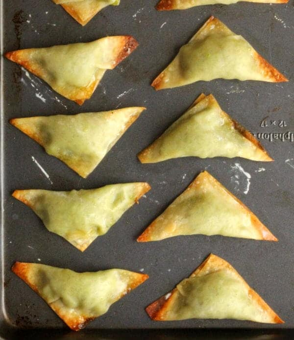 Baked Pea Dumplings | RachelCooks.com