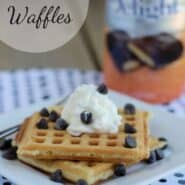 International Delight Heath Waffles | RachelCooks.com