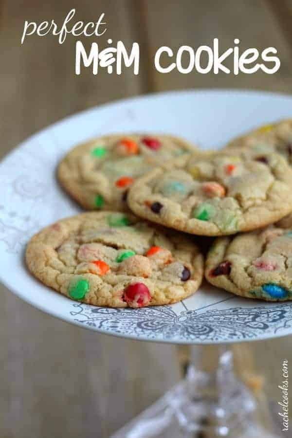 Perfect M&M Cookies | RachelCooks.com