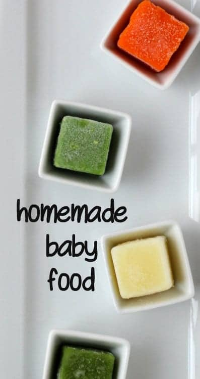 Making Baby Food At Home: A tutorial | RachelCooks.com