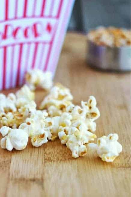 Cool Ranch Popcorn | RachelCooks.com