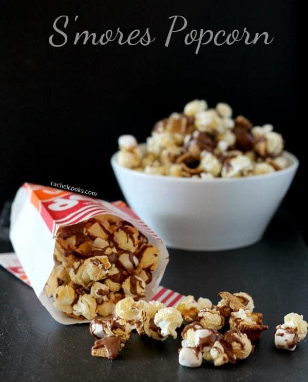 S'mores Popcorn | RachelCooks.com