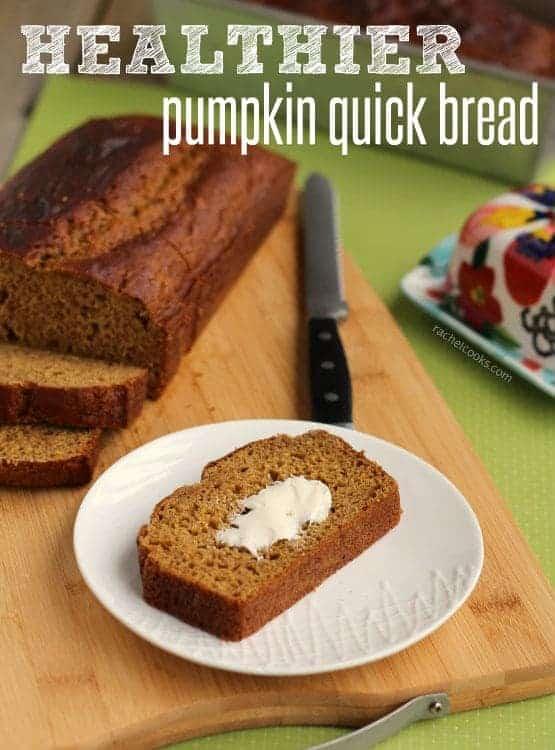 Healthier Pumpkin Bread | RachelCooks.com