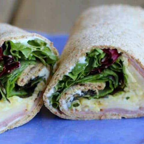 Ham and Egg Wrap