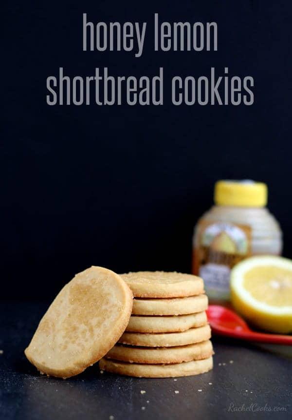 Honey Lemon Shortbread Cookies | RachelCooks.com