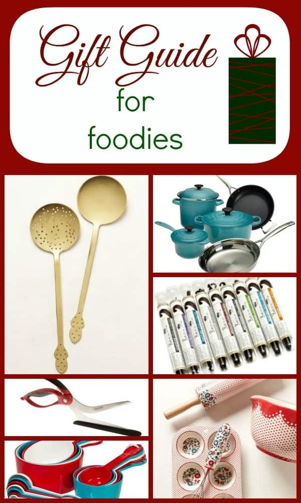 Great Gift Ideas for the Foodie in your life on RachelCooks.com