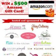 Win a $500 Amazon Gift Card! | RachelCooks.com