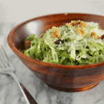 Brussels Sprouts Salad with Green Apples and Cranberries