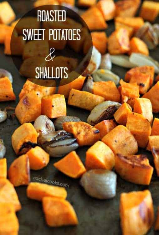 Roasted Sweet Potatoes with Maple Mustard Sauce (with Video)