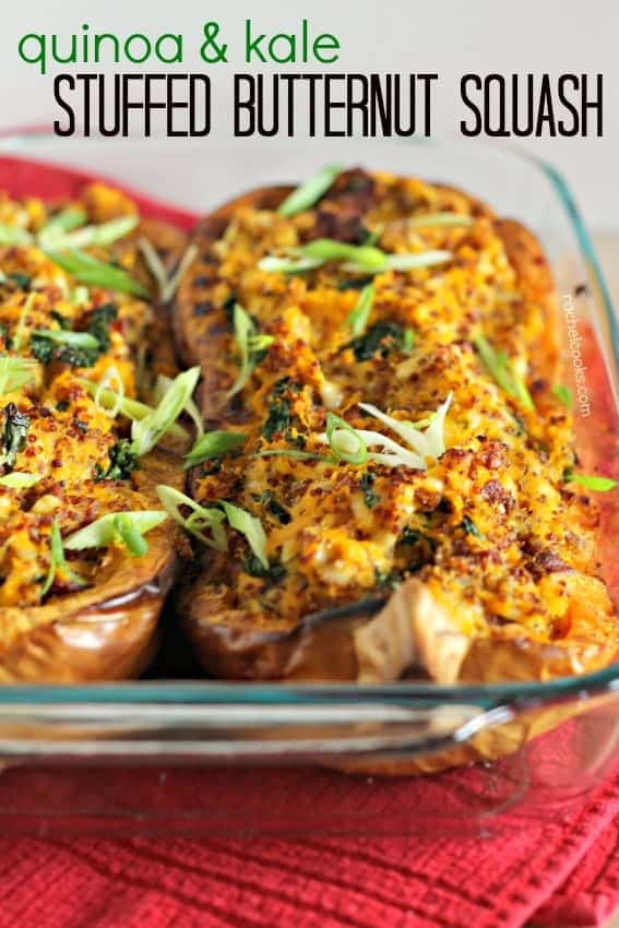 Stuffed Butternut Squash | RachelCooks.com