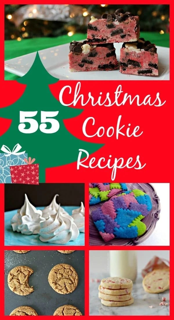 55 Christmas Cookie Recipes on RachelCooks.com : Gingerbreads, Meringues, Sugar Cookies, No Bakes, Shortbreads and more!