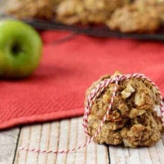 Apple Crisp Breakfast Cookies
