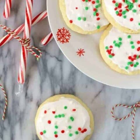 Peppermint Lofthouse Cookies