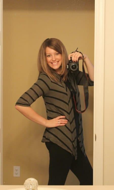 Addison Striped Knit Cardigan