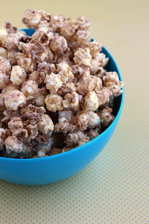 Biscoff Popcorn on RachelCooks.com