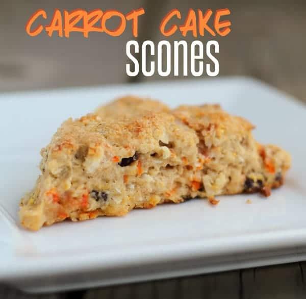 Carrot Cake Scones on RachelCooks.com