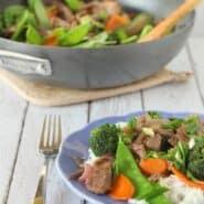 易牛肉和蔬菜RachelCooks.com爆炒+炒菜的技巧徳赢vwin pk10
