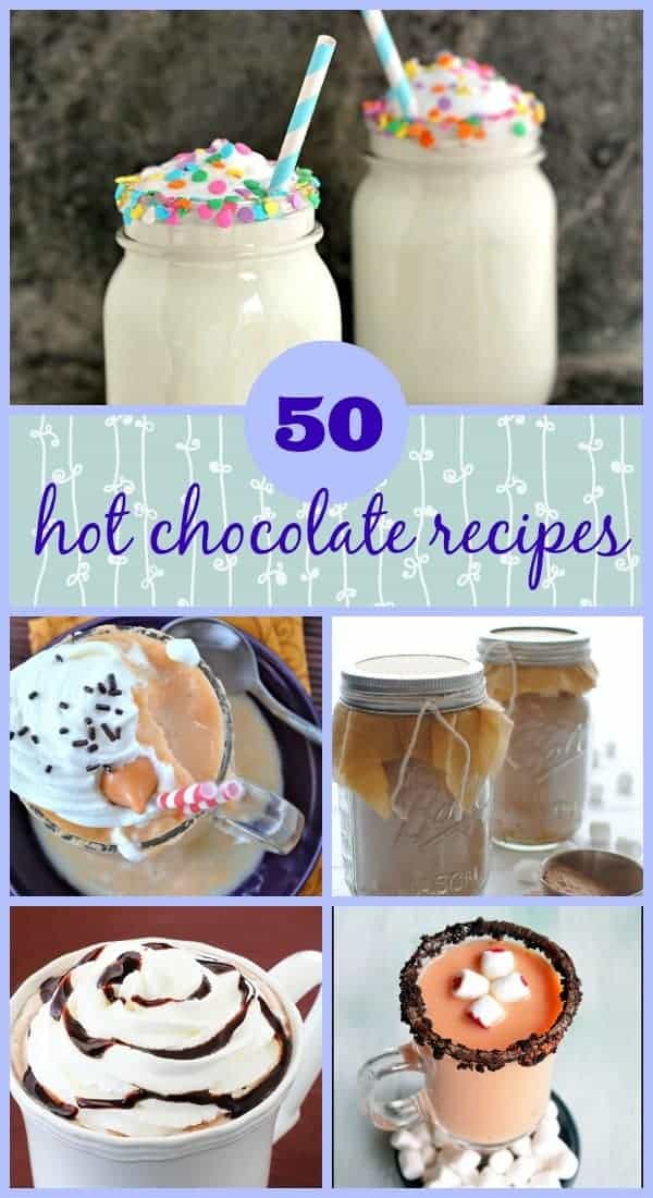 50 Hot Chocolate Recipes on RachelCooks.com