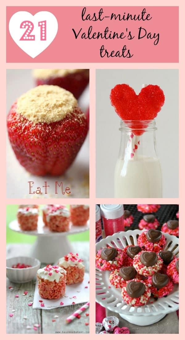 21 Last Minute Valentine's Day Treats on RachelCooks.com