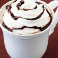 Nutella Hot Chocolate from GimmeSomeOven.com