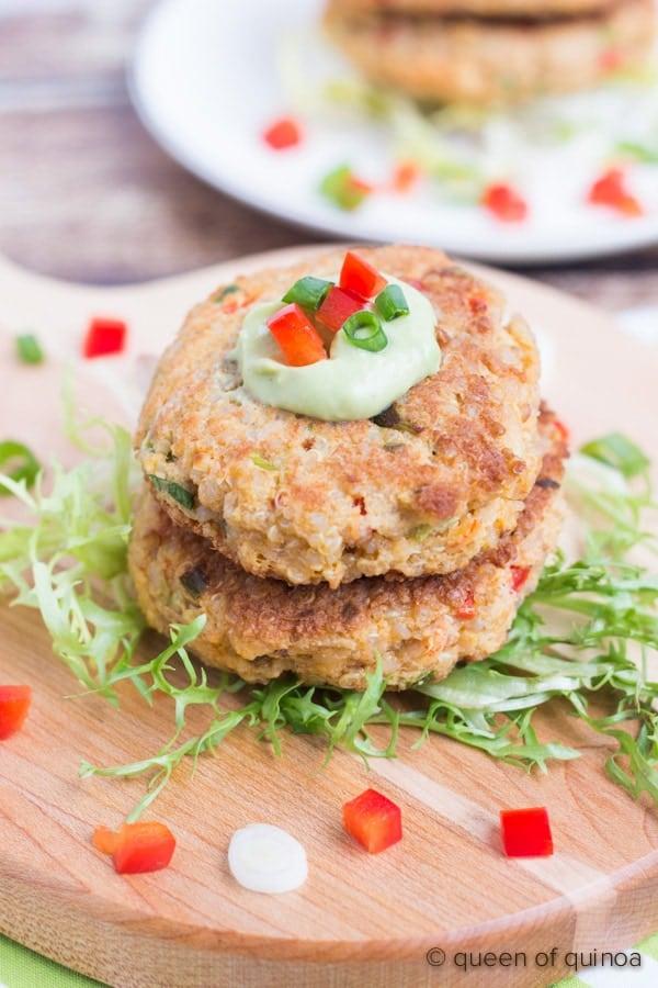 Quinoa Crab Cakes