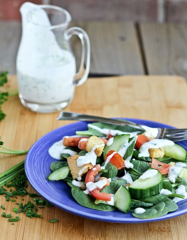 Reduced Fat Ranch Dressing Recipe