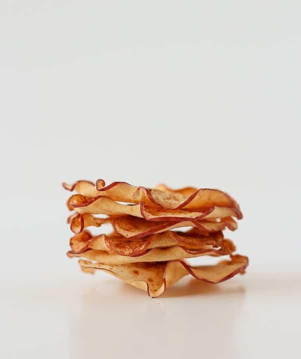 Ginger Cinnamon Apple Chips on RachelCooks.com