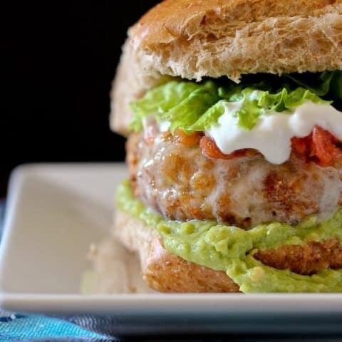 Taco Turkey Burger Recipe