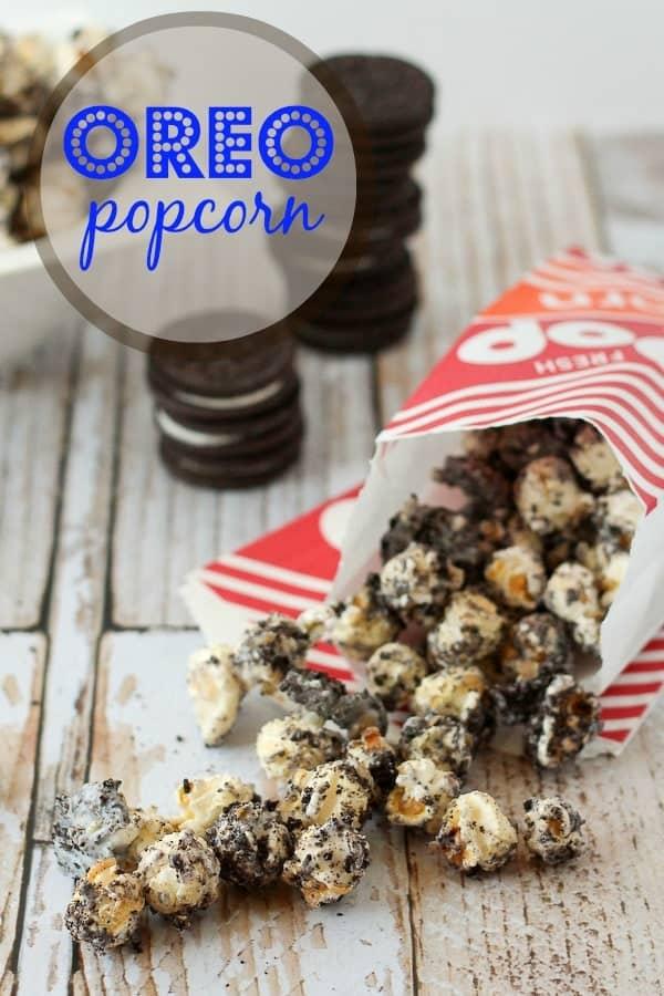 Oreo Popcorn - RachelCooks.com