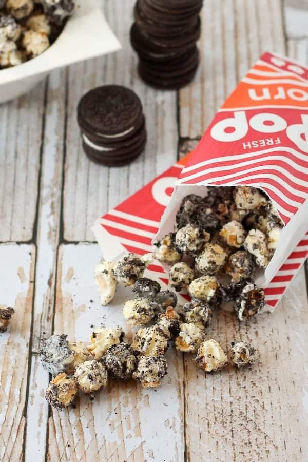 Oreo Popcorn on RachelCooks.com