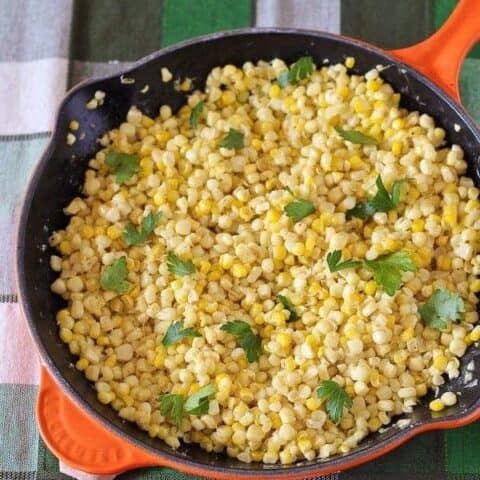 Easy Sautéed Fresh Corn