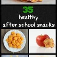 Healthy After School Snacks on RachelCooks.com