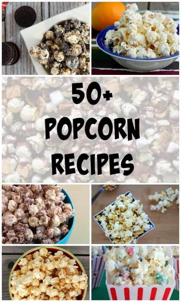 More than 50 Popcorn Recipes on RachelCooks.com