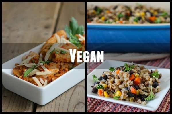 vegan meal ideas for new parents