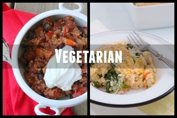 vegetarian meal ideas for new parents
