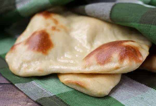 Easy Naan Recipe - RachelCooks.com