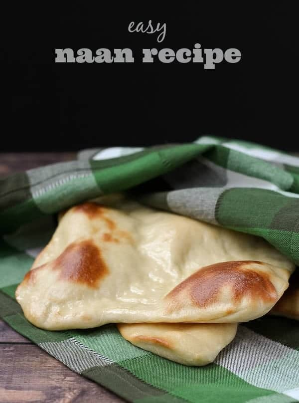 Easy Naan Recipe - Get it on RachelCooks.com