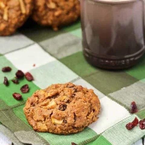 Gingerbread Breakfast Cookies