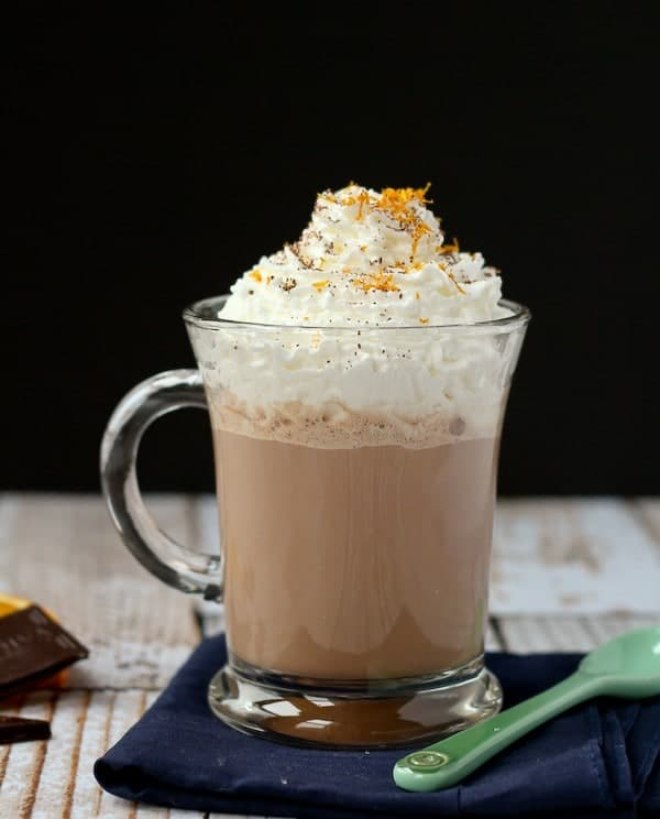 Orange Hot Chocolate Recipe - Get it on RachelCooks.com